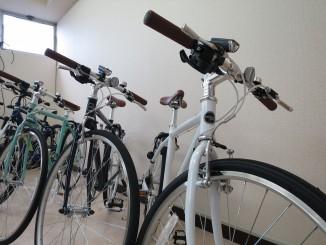 自転車近景