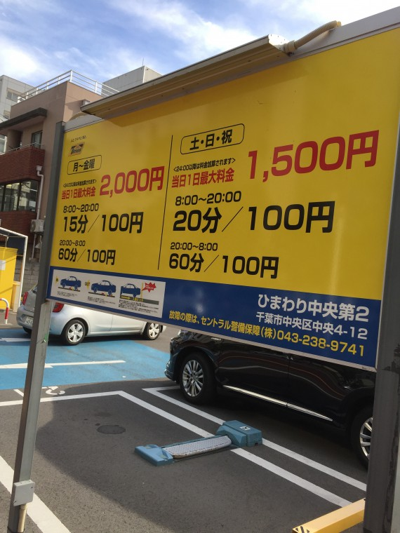 千葉駅周辺の駐車場