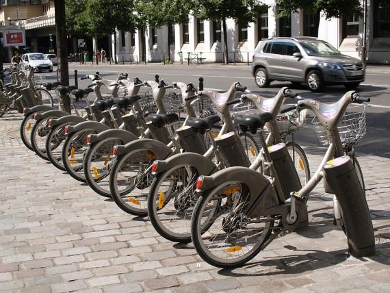 Vélib画像フランス