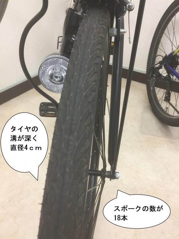 クロスバイクタイヤ画像1