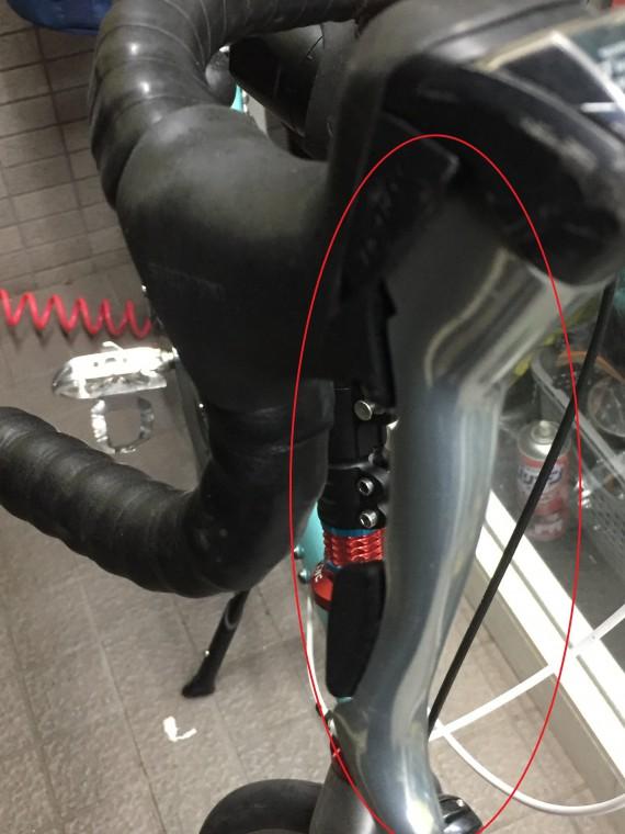 ロードバイクのブレーキ画像