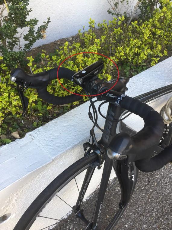ロードバイクライト画像