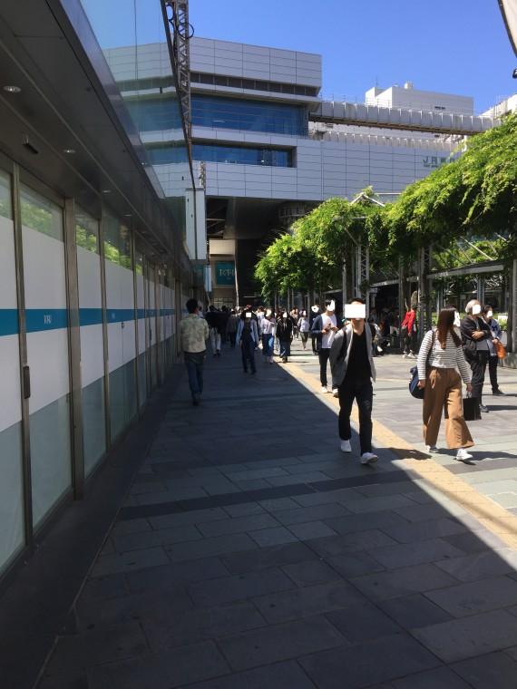 千葉駅前地味子2写真