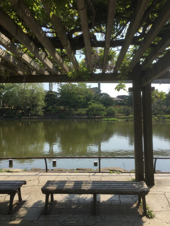 千葉公園の小屋写真