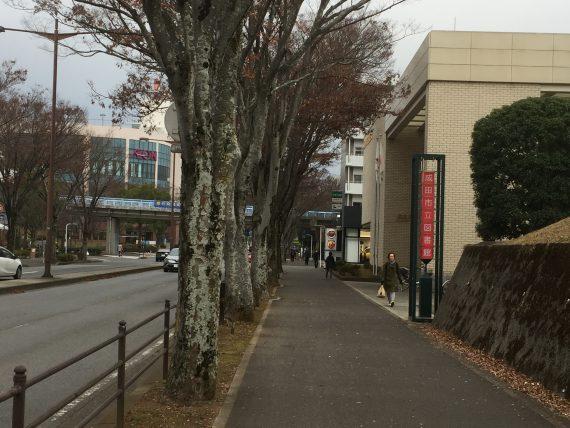 成田市立図書館画像